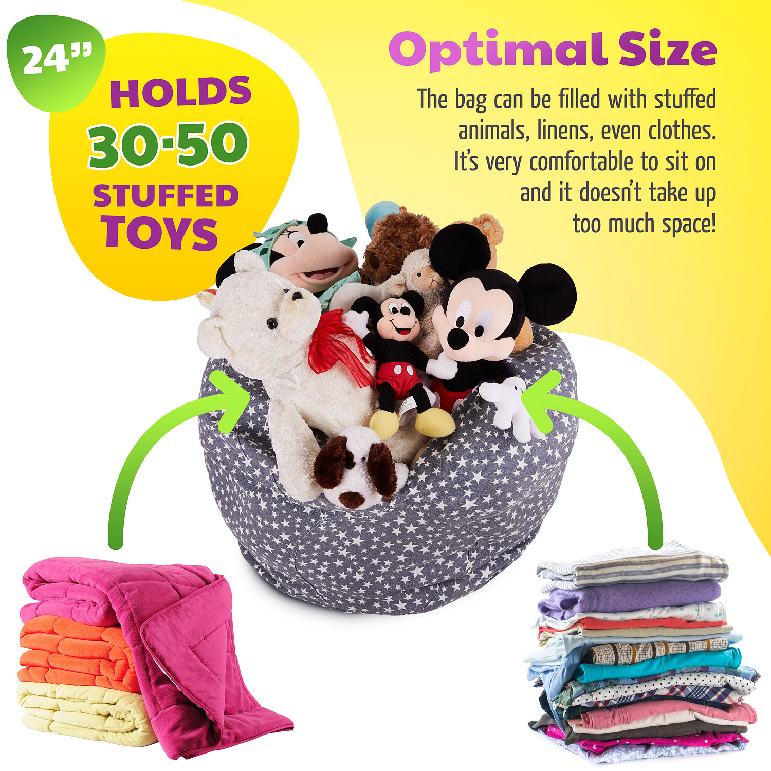Incredible Stuffed Animal Storage Bean Bag Chair Hada Pdpeps Interior Chair Design Pdpepsorg